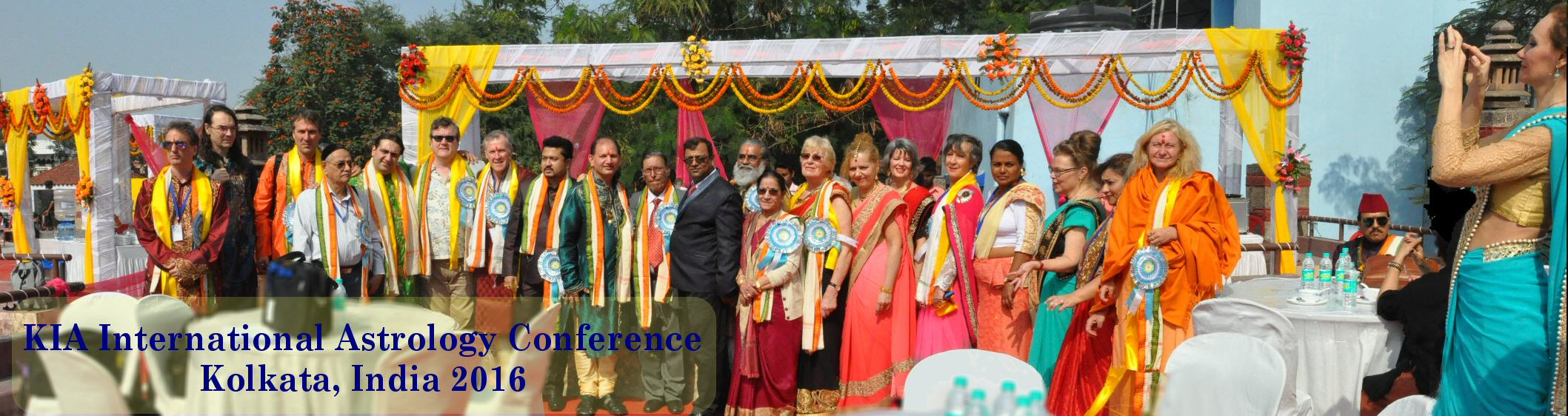 Some Indian and Overseas speakers at the Indian International Astrology Conference in Delhi 2016