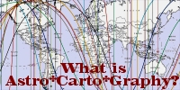 What is Astro*Carto*Graphy?  Astrocartography explained.