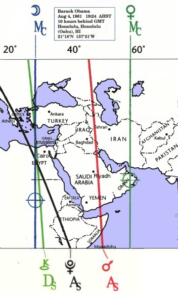 Obama ACG Map for the Middle East