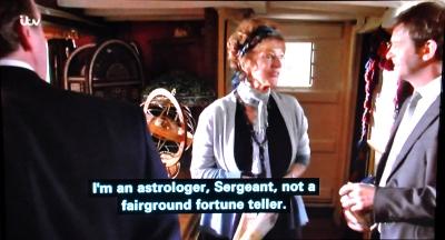 I am an astrologer not a fairground fortune teller.
