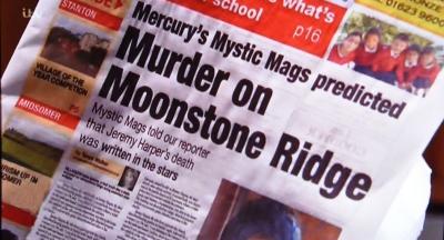Mercury Mystic Mags predicted murder on Moonstone Ridge