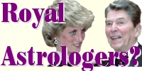 Similarities between the astrologers who worked for Diana, Princess of Wales and the Reagans