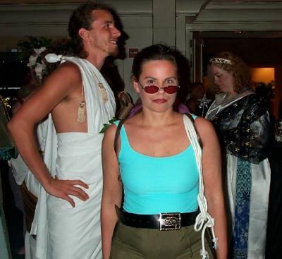 Kim Farnell as Lara Croft