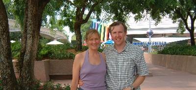 Robert & Karen at Epcot 2002