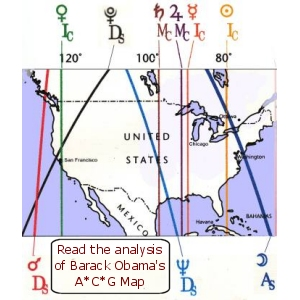 Obama ACG Map for the USA