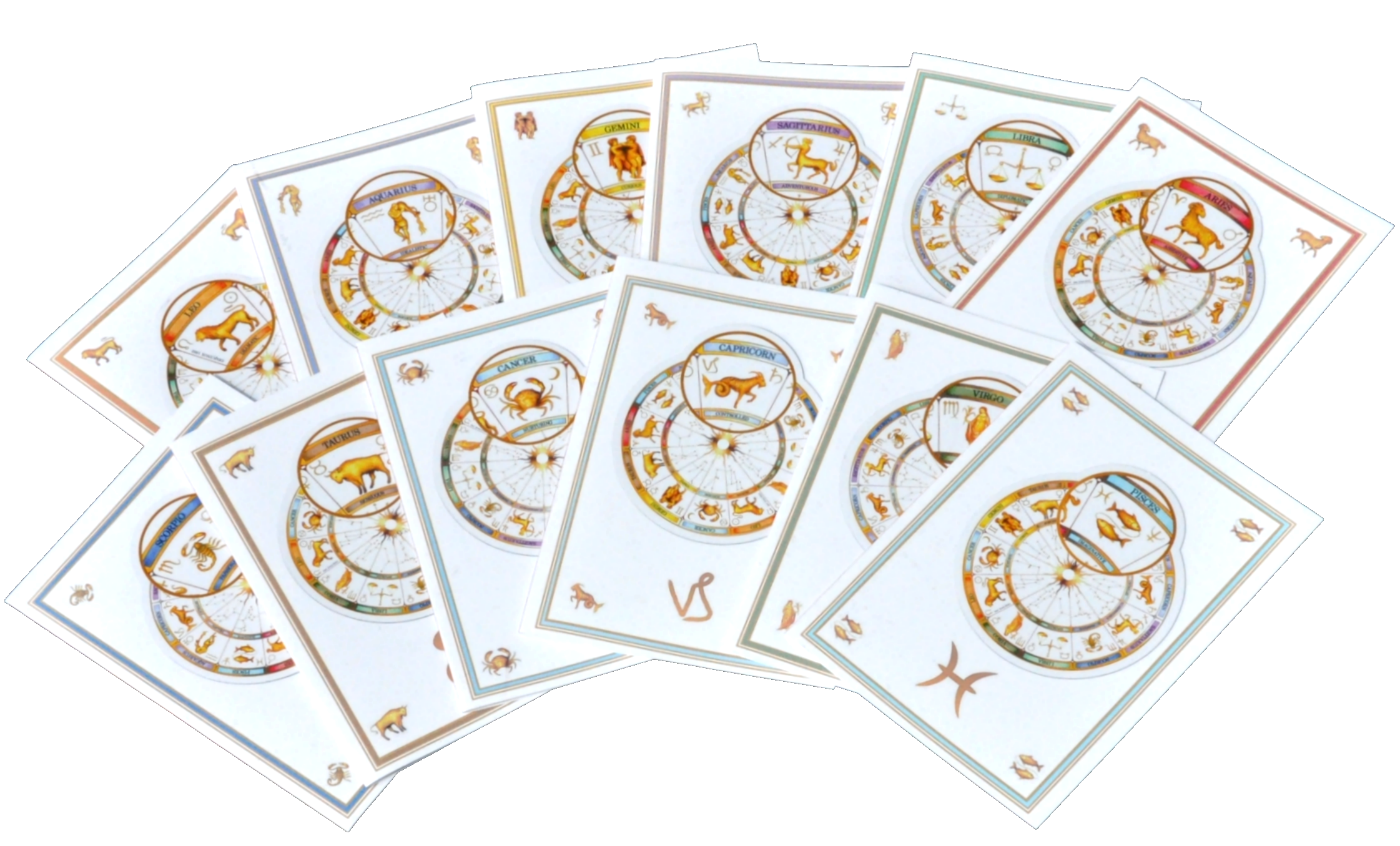 Range of Zodiac Cards