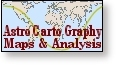 AstroCartoGraphy - locational astrology.  World Maps & Personal Analyses