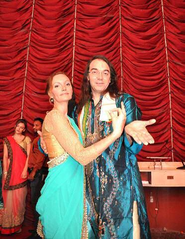 The glamorous Serbian astrologers, Dr Lea and Aleksandra Ismiralgic