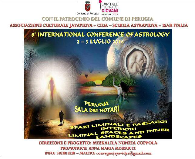 8th International Conference of Astrology Perugia