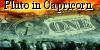 Pluto in Capricorn spells the decline of western hegemony based on intellectual wealth and a new world order based on material wealth.