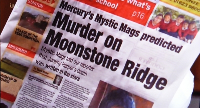 Mercury Mystic Mags predicted murder on Moonstone Ridge