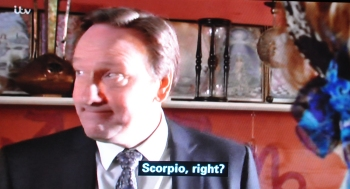 Astrologer to Barnaby Scorpio, Right?
