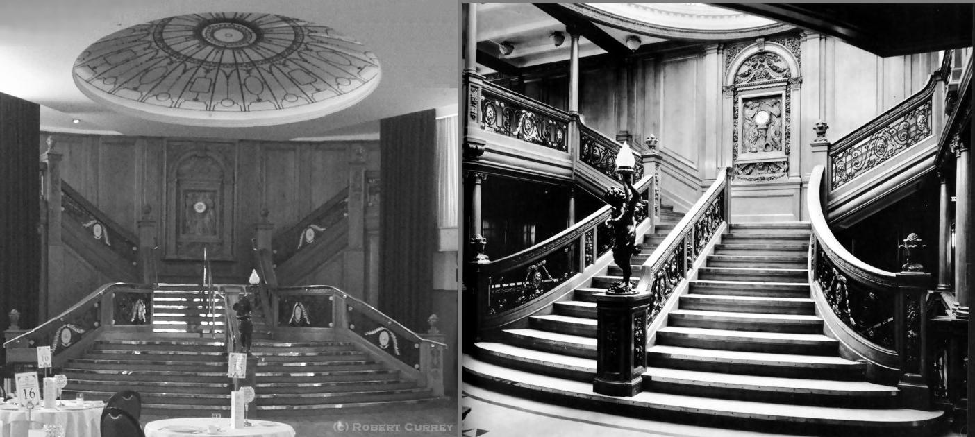 Titanic Stairs