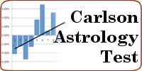 Shawn Carlson test of astrology