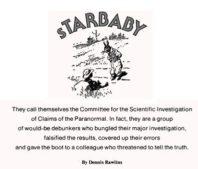 Starbaby - CSICOP investigates Gauquelin
