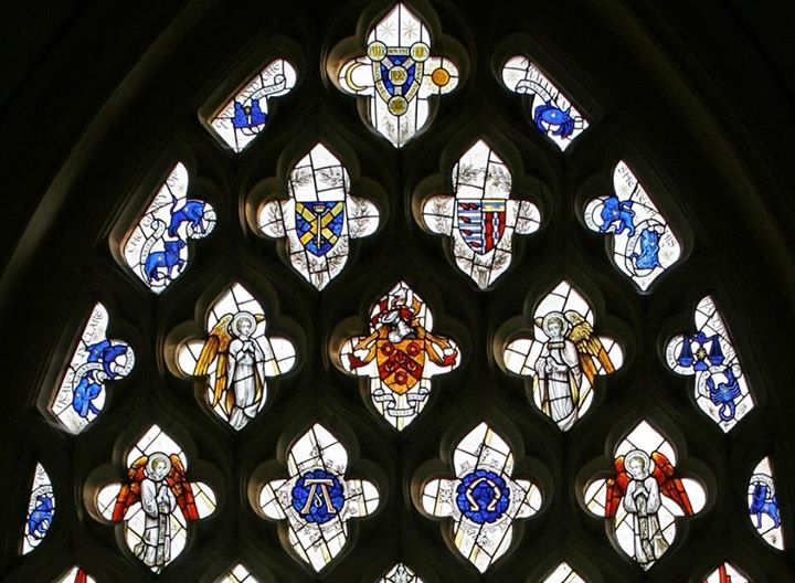 Zodiac Window in Balsham Church